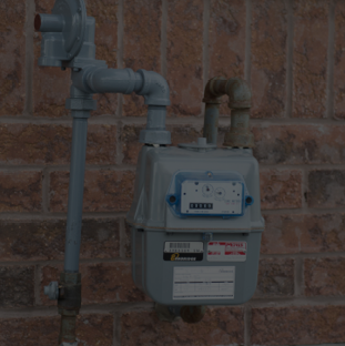 Enbridge gas meter